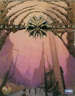 Planescape Campaign Setting Box Art